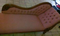 Beskrywing Antique chaise lounge chair for sale. Owner