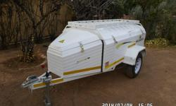7 Foot Challenger luggage trailer for sale - Mass