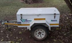 Trailer in good condition. No spare wheel. Challenger