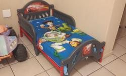 Cars Bed includes - mattress ( excellent condition )