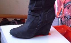 Brand new charcoal boot for sale
