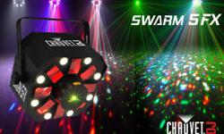 For movement and colorful effects at any event, Swarm�
