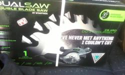 Brand new unopened unused dualsaw waiting to be used.I