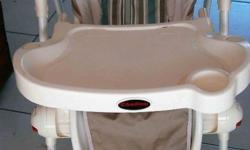 Chelino High chair with adjustable heights, 3