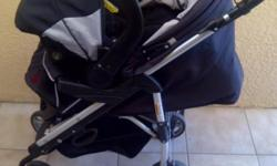 Beskrywing Soort: Baby Gear Soort: Prams Black and grey