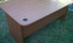 Selling a Cherrywood finish desk. Lovely for office or