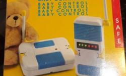 I am selling a Chicco baby monitor in original