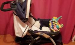 Chicco pram for sale Includes toy that attaches to pram