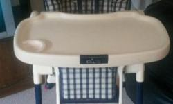 Hi we selling our high chair in good condition R700-00