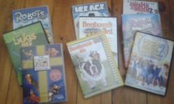9 Childrens DVD's: Robots, Ice Age, Bratz, Cheaper by