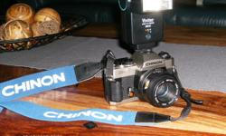 CHINON CM 7 35mm film camera for sale - Mint condition