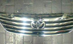 I'VE GOT AN ORIGINAL CHROME TOYOTA GRILL FOR SALE. FITS