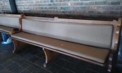 11 excellent condition solid wood length 2.3 m Church