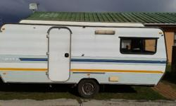 Hi there. I'm selling my caravan Ci Sprite sport, its