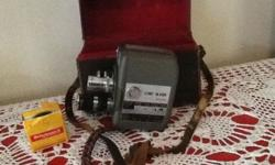 Cine Mark 8mm camera. Very good condition.   To collect