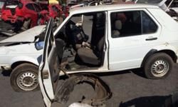 Citi Golf 2002 . Accident damaged . Stripping for