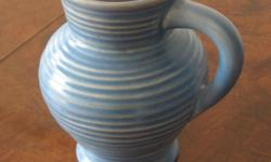 1 only �Clarice Cliff� vase - slightly cracked for