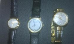 Beskrywing 3 Classy WATCHES in very good condition,