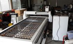 Brand new CNC plasma cutting machine!Cutting sizes 3m x