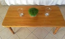 Pine coffee table for sale. Has been sanded and