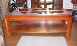 Coffee Table for sale @ R1000-00 and Dressing table