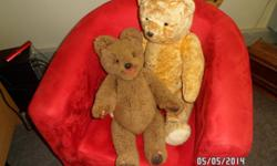 Two collectible Teddy Bears: 1 x Polish and 1 x German;