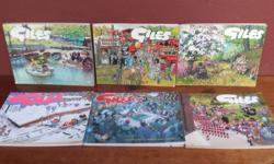 Collection of 6 Giles comic books. Put these in the