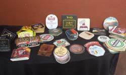 Collection of coasters. From all over the world. Some