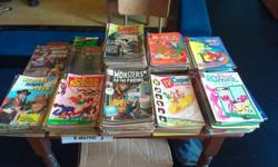 Hi selling my comics they are all in fair condition. I