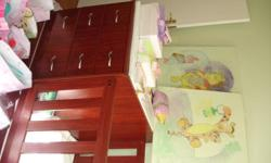 Compactum Bed For Sale - Dark Wood - Cot, changing