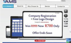 COMPANY REGISTRATION + Free logo design Was R1200 Now