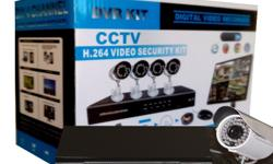 Complete 4 Channel D.I.Y CCTV Kit with 900 TV Line HD