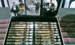 I am selling my complete JAMES BOND 007 COLLECTORS DVD