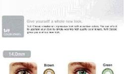 Create your modern and luxurious style Color your eyes