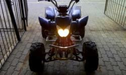 Beskrywing Fabrikaat: Ander Model: conti 200cc quad