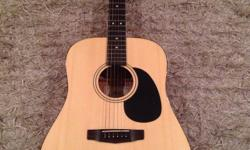 Cort acoustic in great condition for sale. Will throw