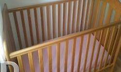Good condition, Cot and matching chest of draws, last