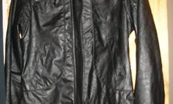 Cotton on blazer, size m and black pleather jacket m