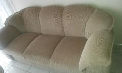 Couch - 3 seater, Grafton Everest, newly upholstered,