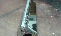 cowley superbike or tourer exhaust as new with all