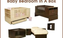 Wooden Baby Cot - extra lengthmahogany colourCot size: