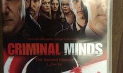 Criminal Minds Season 2 Box set - as new. Complete 6