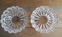 FOR SALE: Very fancy crystal ashtrays - worth well over