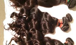 Malaysian, Brazillian, Peruvian curly weaves R2400 for
