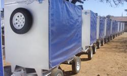 TRAILERS UNLIMITED. NRCS APPROVED. TOP QUALITY CUSTOM