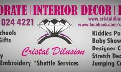 Cristal Dilusion is at your service with the most