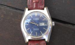 Cyma wrist watch collectors piece R2800 neg