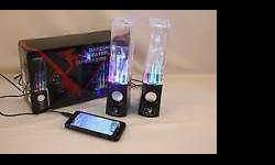 Dancing water speakers, brand new in the box, water