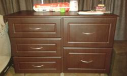 Excellent condition, 5 drawers, large changing space.