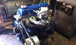 New carburator, new oil pump, new starter, new fuel and